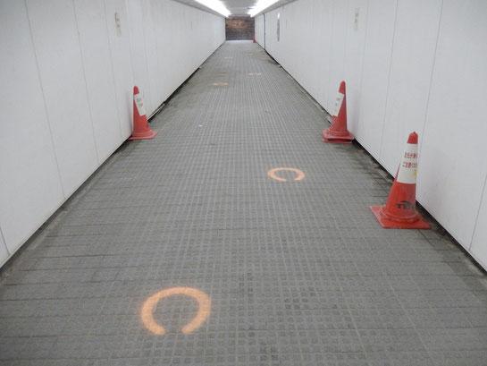 内馬場 通路 その2 蹄鉄