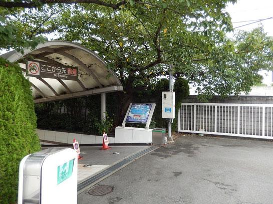 京都競馬場 スタンドへの道 地下道