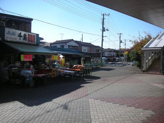 東京競馬場西口前の食堂