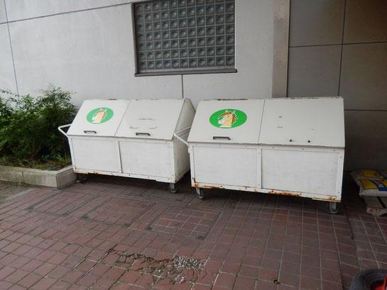 水沢競馬場,ごみ箱
