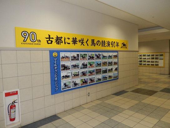 京都競馬場 マイルチャンピオンシップ パネル