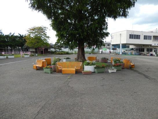 水沢競馬場,中庭広場その2
