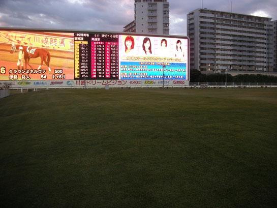 川崎競馬場,ドリームビジョン