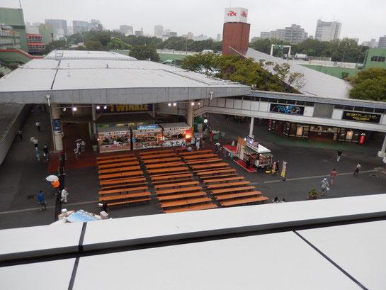 大井競馬場、グルメ、スタンドL-WING横特設ステージ、東京トゥインクルバール