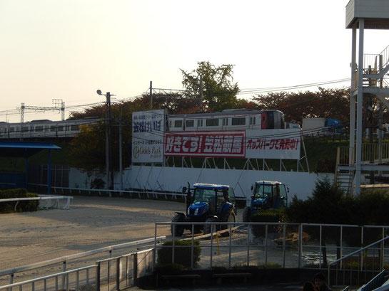 笠松競馬場 4コーナーポケット地点 オッズパーク