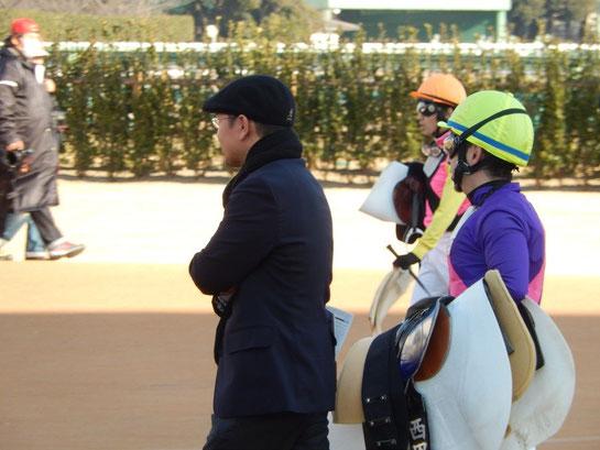 中山競馬場,グランプリロード,和田雄二調教師、西田雄一郎騎手