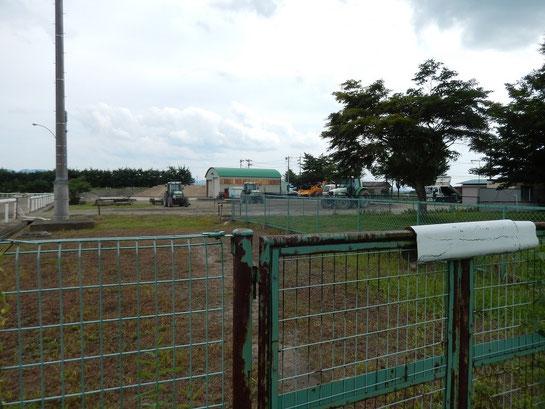 水沢競馬場,屋外