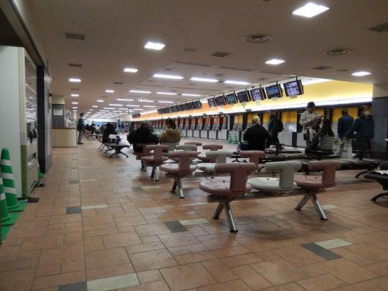 東京競馬場,いわて競馬,馬券売り場