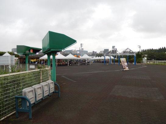 大井競馬場 内馬場 バーベキュー広場