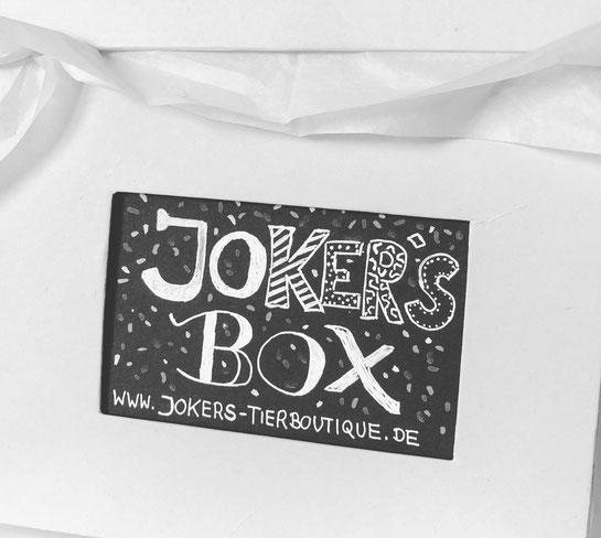Joker's Box Hundegeschenk Überraschung Jokers Box