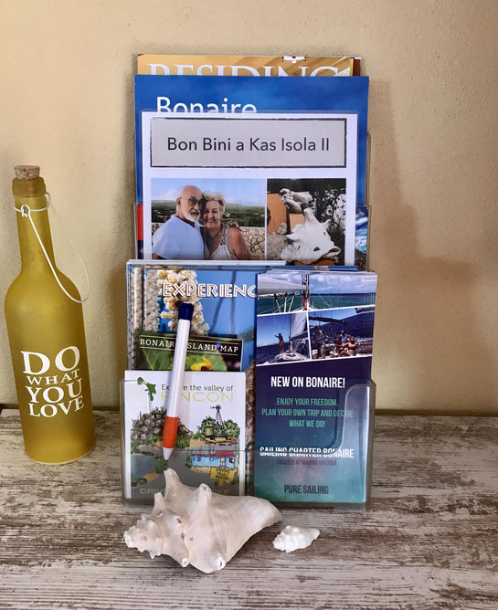 In het vakantiehuis is toeristische informatie aanwezig.