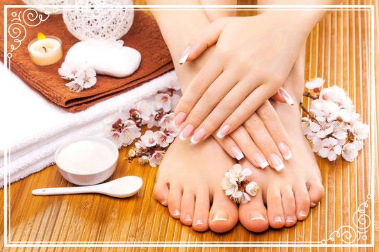 Manicure, Maniküre, Handpflege, Pedicure, Pediküre, Fusspflege, Kosmetikstudio Münchenbuchsee, Kosmetikerin