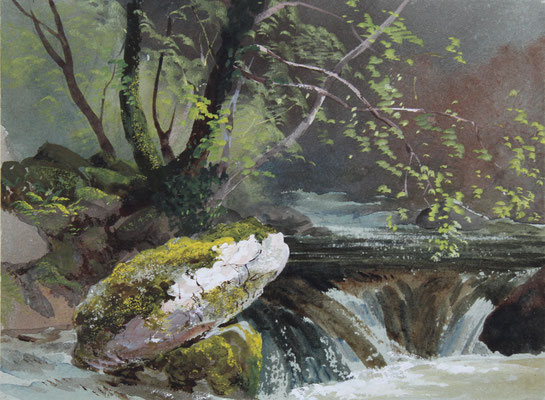 Karl Lang Archiv Büsingen Thomas Burtomn Watkin Forster TBWF Aquarell watercolor
