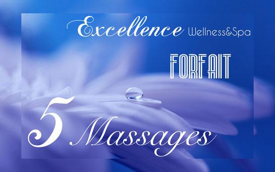 """Massage bien etre à Biarritz, ici le """"forfait 5 massages"""""""