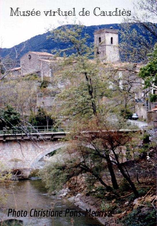 Printemps à Caudiès vers 1980 (?)