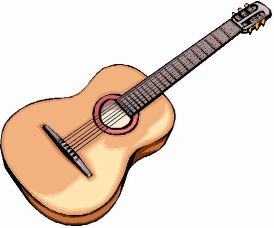 chitarra classica in disegno