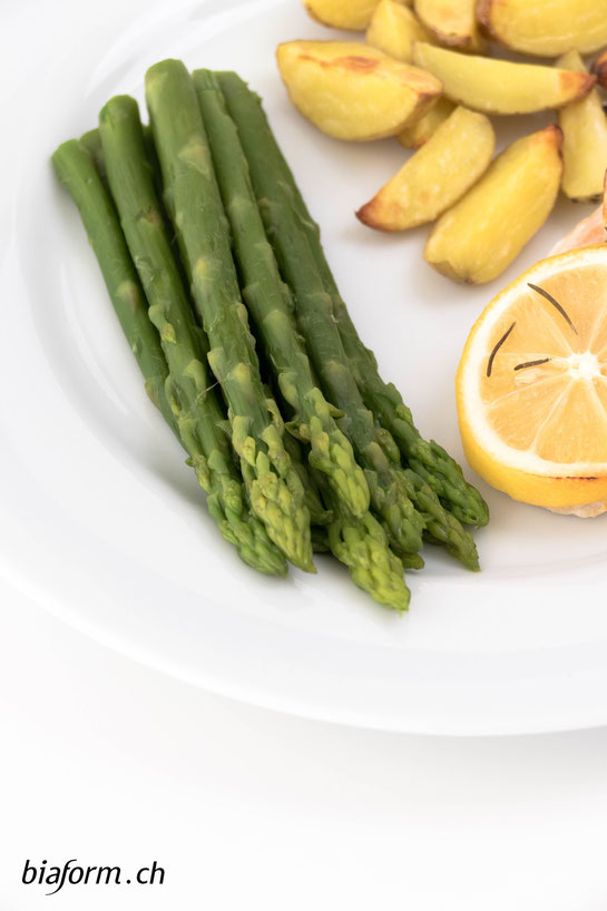 gesunde Ernährung, Spargeln, Foodblogger, biaform