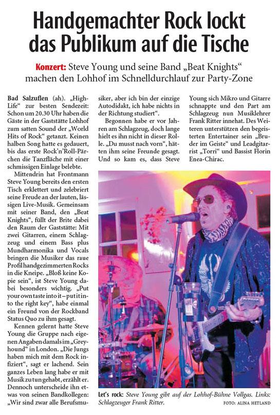 Lippische Landeszeitung vom 12.2.2019