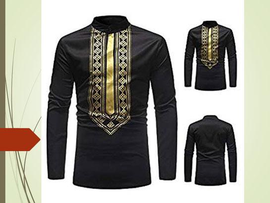 Roiper Chandail de Mode d'homme, Homme Automne Hiver Luxe Africain 5879 . Prix : 12012,7