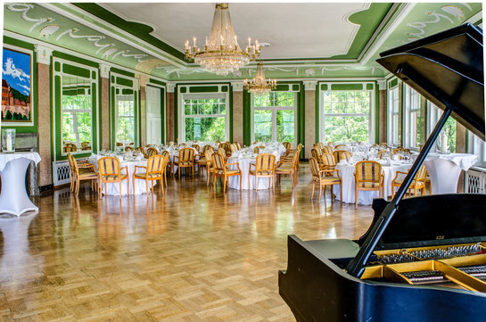 Hochzeit im Schlosshotel Molkenkur in Heidelberg