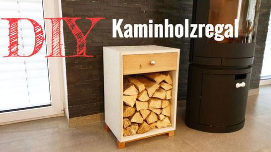 Ein Kaminholzregal selber bauen