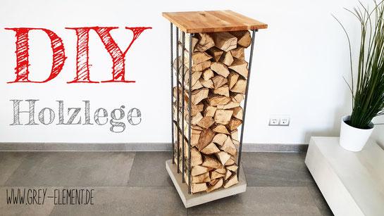 Ein Holzregal selber bauen