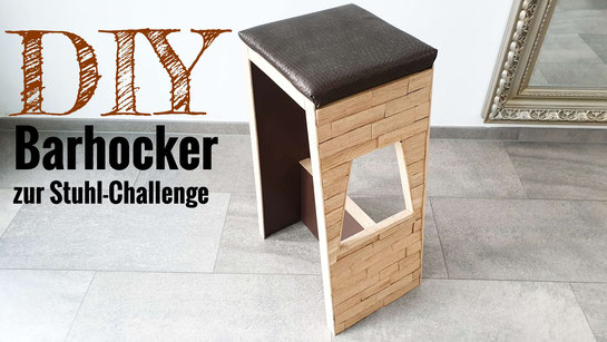 DIY Barhocker