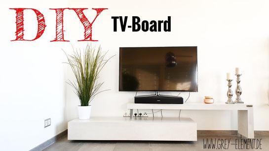 Ein TV Board selber bauen
