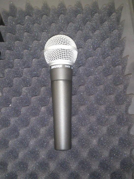 Shure SM58 (dynamic microphone)