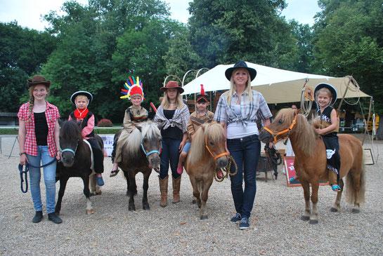 Ponyreiten Kindergeburtstag