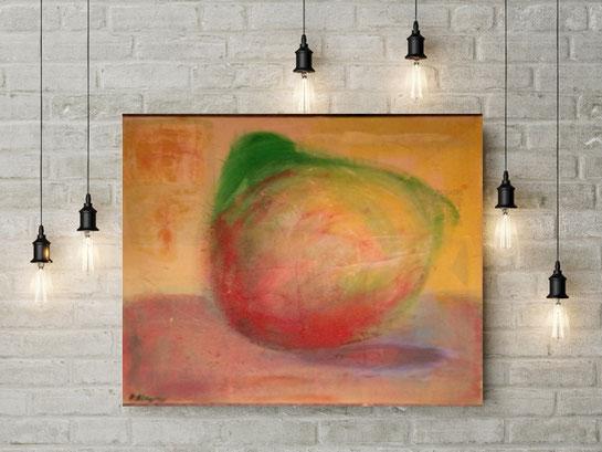 Kunstwerk an der Wand