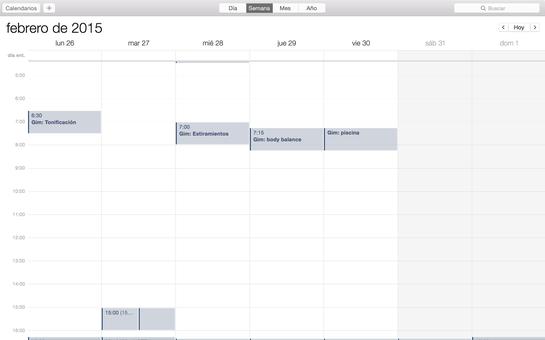 marca en tu calendario los días que irás al gimnasio - AorganiZarte.com