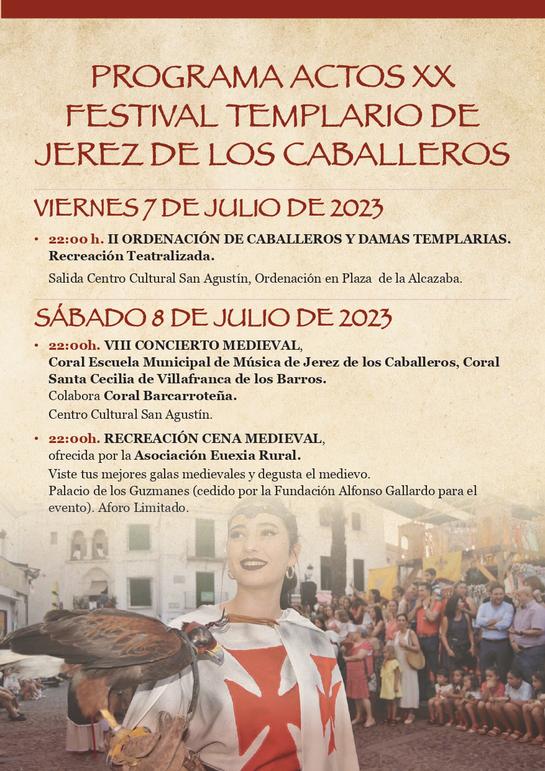 Festival Templario de Jerez de los Caballeros