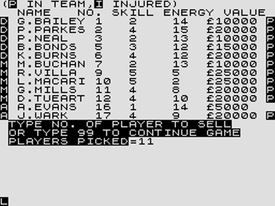 Football Manager  1981