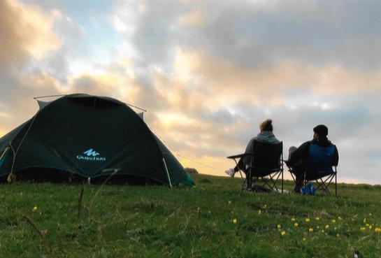 Camp Volkertswarft - Mitten in der Natur