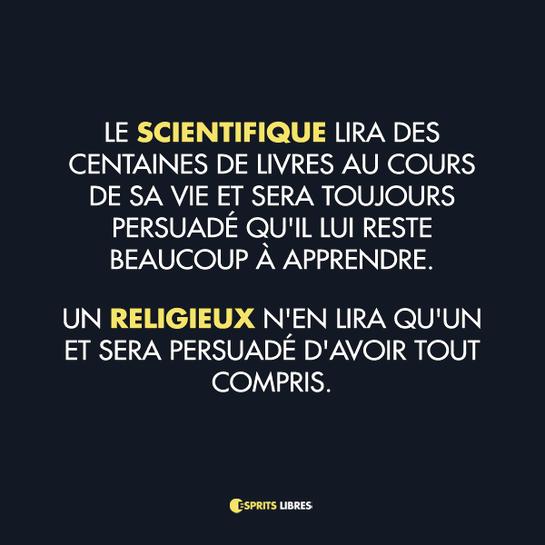 esprit libre,scientifique, apprendre