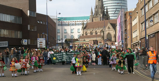 St Patrick's Day Parade 2007. Image by Tim Ellis dowloaded from flickr under Creative Commons Licence: Attribution-Non-Commercial 2.0 Generic. See Acknowledgements for a link to the flickr website