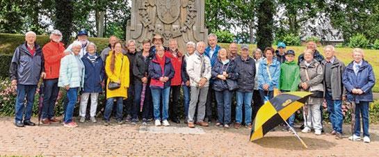 Die ADAC-Mitglieder besichtigten die Schleuse in Brunsbüttel.