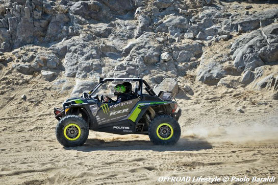 Shannon Campbell, vincitore della Can Am UTV King of the Hammers