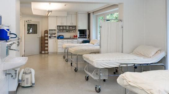 Aufwachraum | Praxisklinik am Rothenbaum