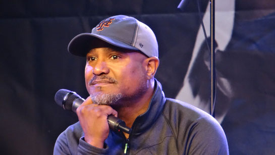 Seth Gilliam Father Gabriel The Walking Dead Walker Stalker London 2016