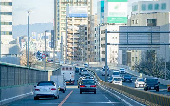大阪市内方面ルート配送