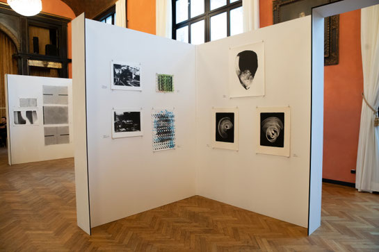 EN FACE, 2018, Festsaal des Münchner Künstlerhauses (Foto © Franz Hoke)