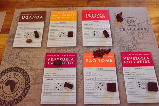 Schokoladen-Tasting inkl. Kakaobohnen