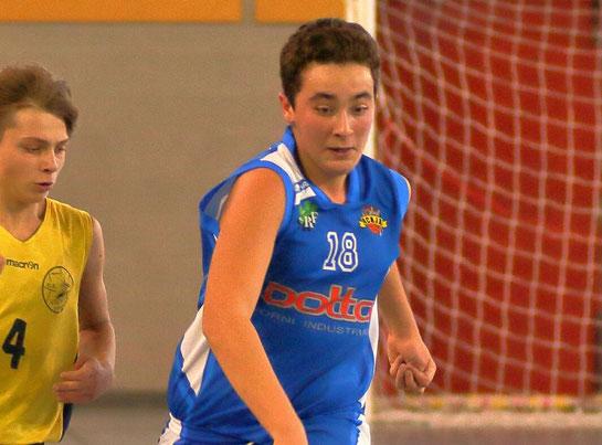 Leonardo Sestu, top scorer Acaja con 9 punti - Guido Fissolo ph.