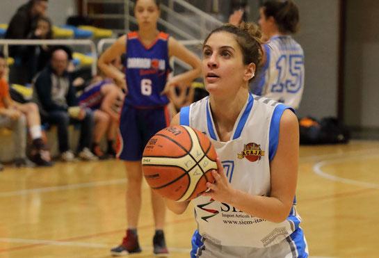 Capitan Giulia Donadio. Per lei una prestazione monstre da 34 punti, 16 rimbalzi e 9 recuperi - Guido Fissolo ph.