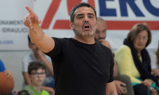 Cristiano Carchia, per il secondo anno consecutivo coach della Promozione - Roberta Cravero ph.