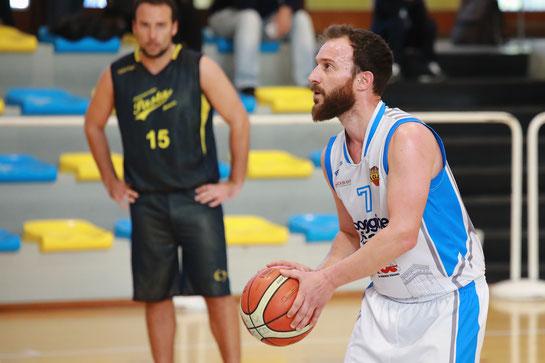 Capitan Danilo Brizio in azione