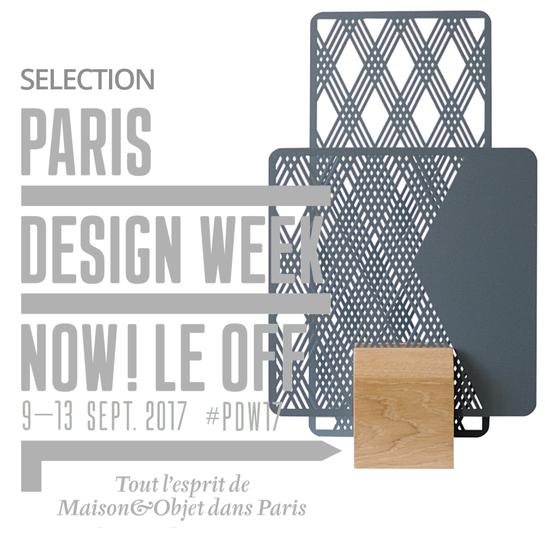 la lampe Totem de @cprqct sélectionnée pour participer à Now Le Off de la Paris Design Week 2017
