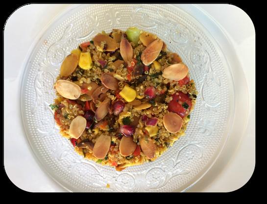 taboule oriental au quinoa
